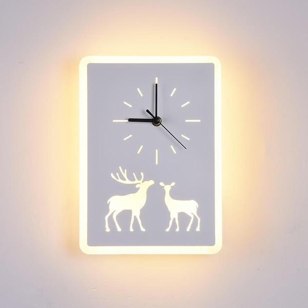 Bảng giá Đèn LED đồng hồ DEER hiện đại tăng thêm sự sang trọng cho không gian