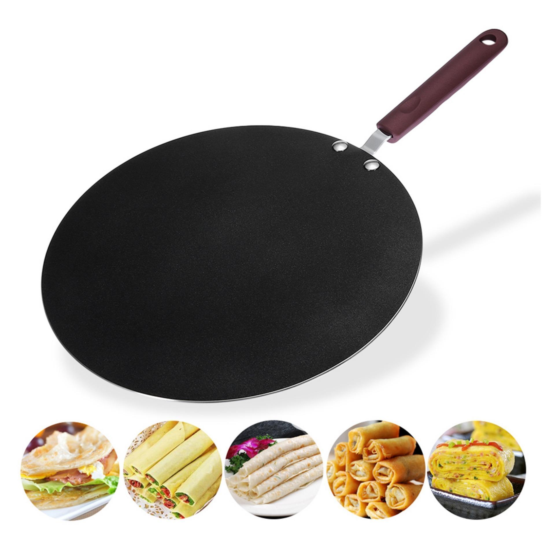 Sharprepublic 30 Cm Dosa Tava Chảo Chiên, Bánh Kếp, Rotti Làm Bánh Mì, Trứng Chiên, Bánh Mì Dẹt