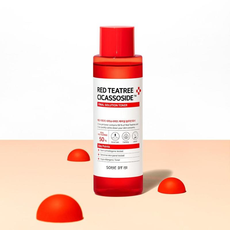 Nước hoa hồng Some By Mi Red Teatree Cicassoside Derma Solution Toner 150ml