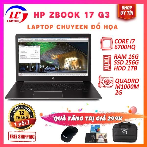 Bảng giá Laptop đồ họa hp zbook 17 g3 i7-6700hq,vga nvidia quadro m1000m- 2g, màn 17.3 full hd ips Phong Vũ