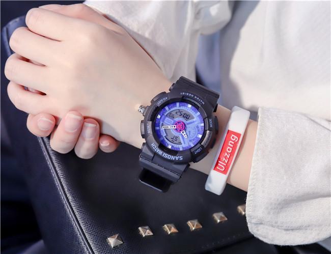 Giá Tiết Kiệm Để Sở Hữu Ngay Đồng Hồ Thể Thao  Nam Nữ Sanosi Sport Watch Dây Cao Su Size 36mm