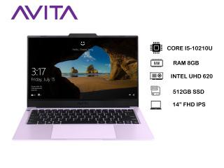[Trả góp 0%]Laptop AVITA LIBER V14 màu tím tử đinh hương - Core i5-10210U RAM 8GB SSD 512GB Win 10 Home - - Bảo hành 18 tháng - Tặng Balo - Hàng chính hãng thumbnail
