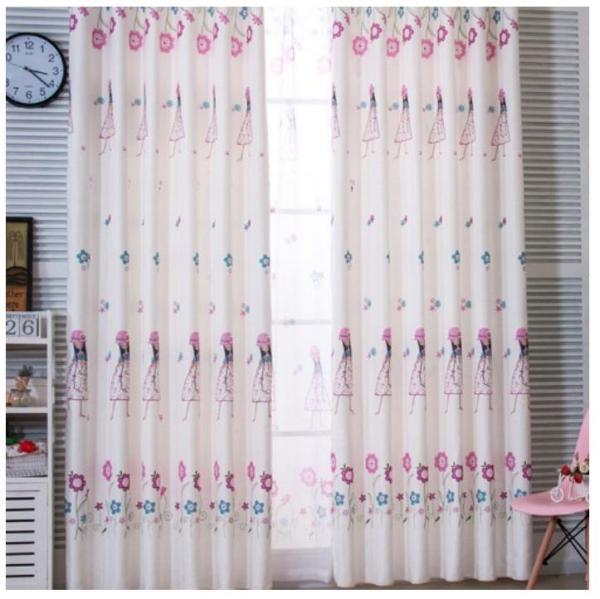 Rèm vải dày che nắng tốt cách nhiệt rèm vải cô gái 3m x dài 2.7m