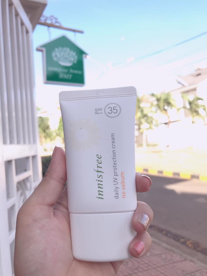 [Best Seller] Kem Chống Nắng Kiềm Dầu Innisfree Daily UV Protection Cream No Sebum SPF35 PA+++ 50ml chính hãng