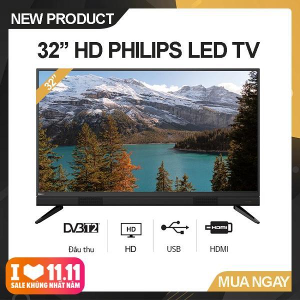 Bảng giá Tivi Led Philips 32 inch HD - Model 32PHT5583/74 (Đen) Công nghệ hình ảnh Pixel Plus HD, Tích hợp DVB-T2 - Bảo Hành 2 Năm