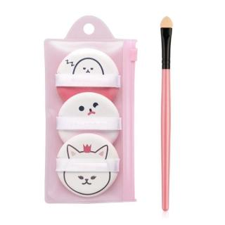 Bộ 3 bông phấn Cushion My Beauty Tool Jam Air Puff (Bundle)- Tặng cọ mắt bông AT00068 thumbnail