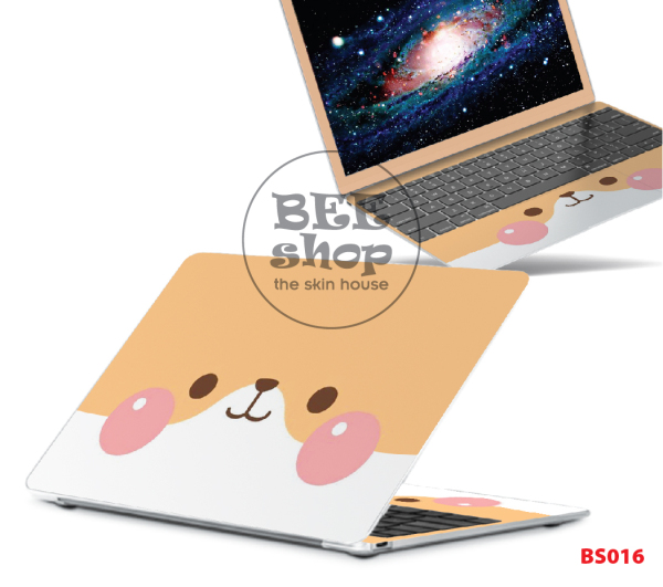 Miếng dán decal CUTE cho Macbook/HP/ Acer/ Dell /ASUS