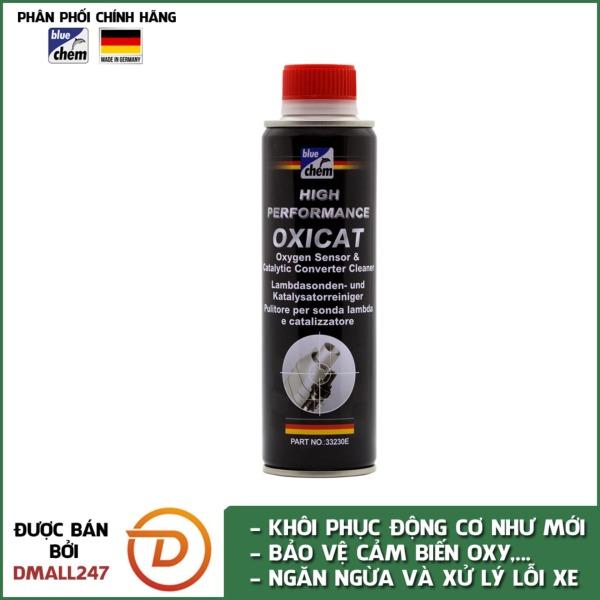 Phụ gia vệ sinh cảm biến oxy và bầu lọc khí thải catalytic Bluechem 33230E
