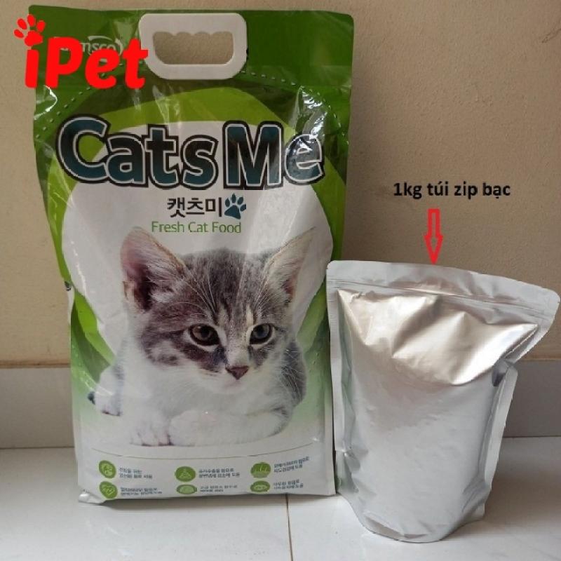 Thức Ăn Hạt Khô Cho Mèo Cats Me Túi 1 Kg 500g - iPet Shop