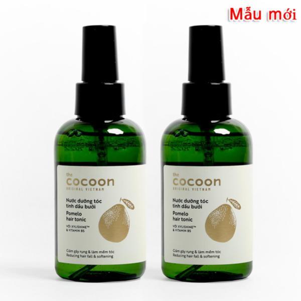 Bộ 2 chai Nước dưỡng tóc tinh dầu bưởi (pomelo hair tonic) Cocoon 140ml x2 giá rẻ