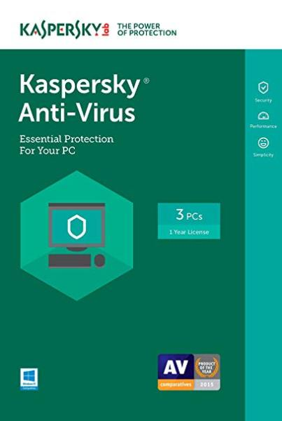 Bảng giá phần mềm Kaspersky Anti-Virus 3 thiết bị 2020, 2021 Phong Vũ