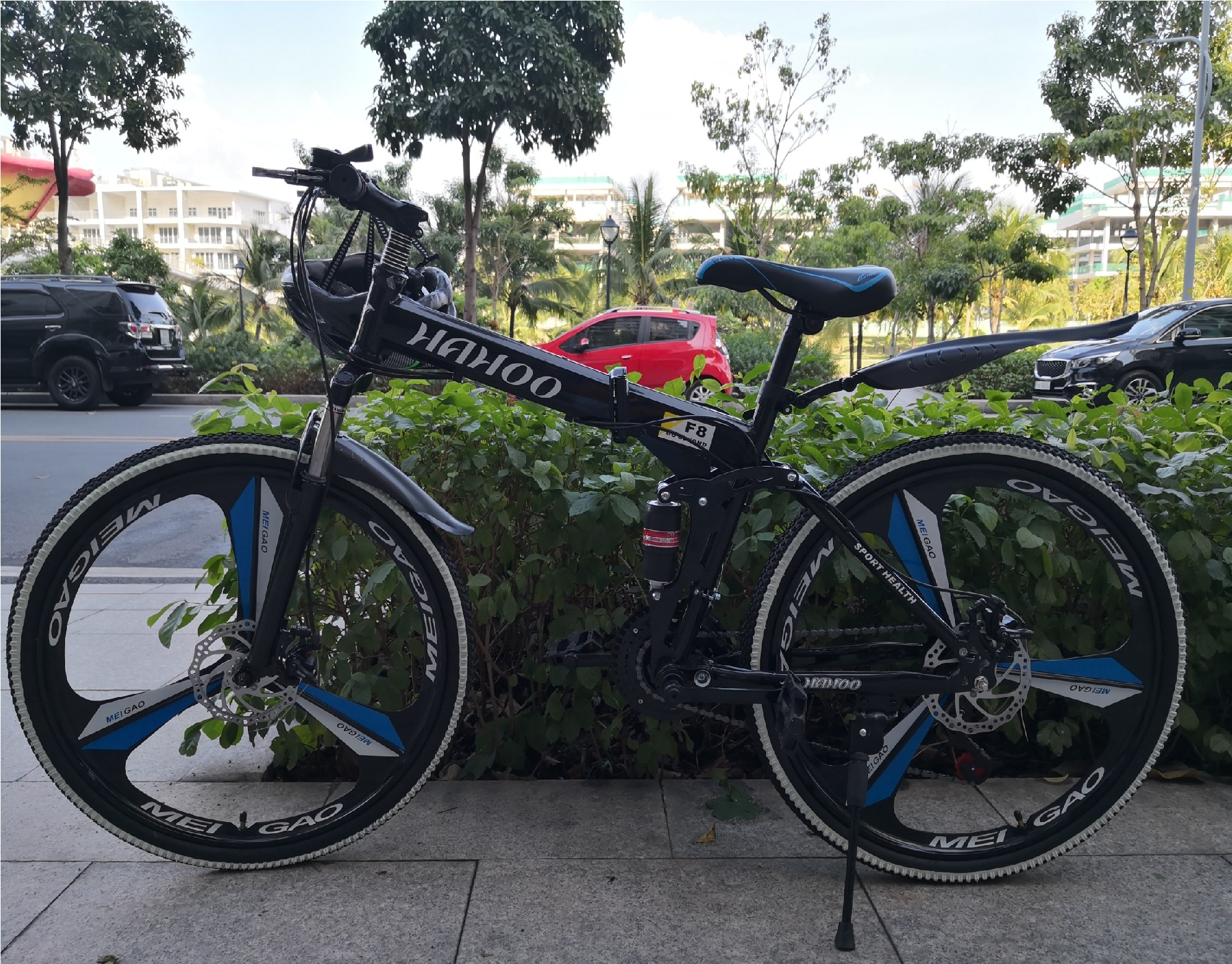 Mua Xe đạp thể thao địa hình gấp gọn HaHoo (Bánh mâm đúc)