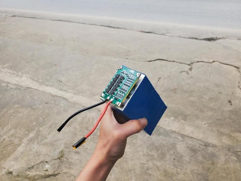 Khối pin lithium 12V 12.000mAh (12AH)