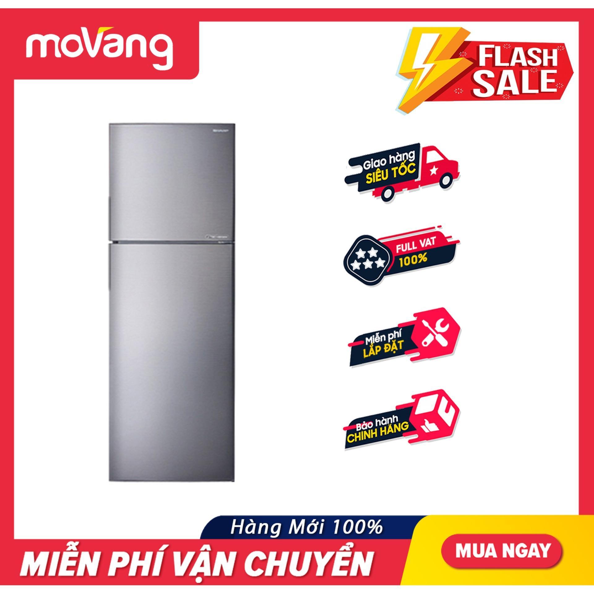 Offer Khuyến Mại Tủ Lạnh Sharp 271 Lít SJ-X281E-DS