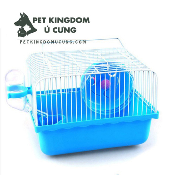 Lồng mini cho hamster đầy đủ phụ kiện