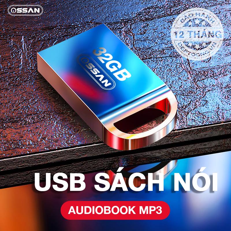 USB 32GB USB Sách Nói Với 80 Sách Nói Kinh điển Gồm 20 Sách Phát Triển Bản Thân , 20 Tiểu Thuyết Kinh điển , 40 Sách Kinh Doanh Và 20 Sách Nói Tiếng Anh Tặng Kèm OTG Kết Nối điện Thoại Duy Nhất Khuyến Mại Hôm Nay