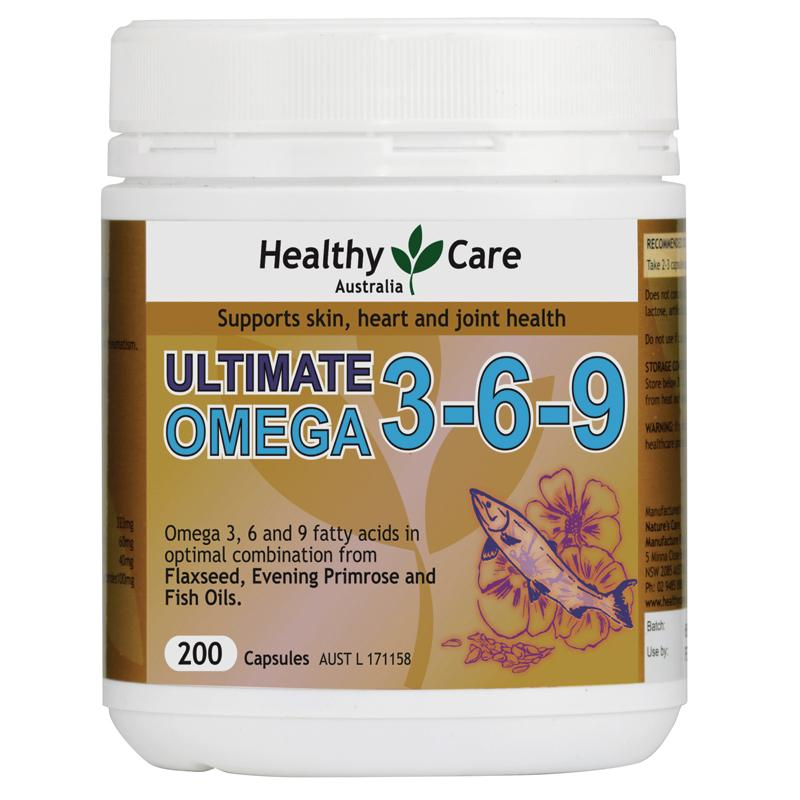 Bổ sung  Ultimate Omega 369 Healthy care, 200 viên