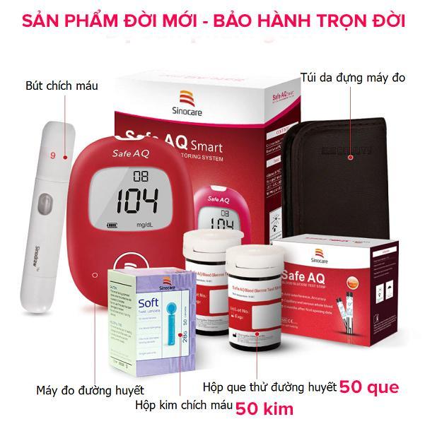 Nơi bán Máy đo đường huyết Safe AQ Sinocare