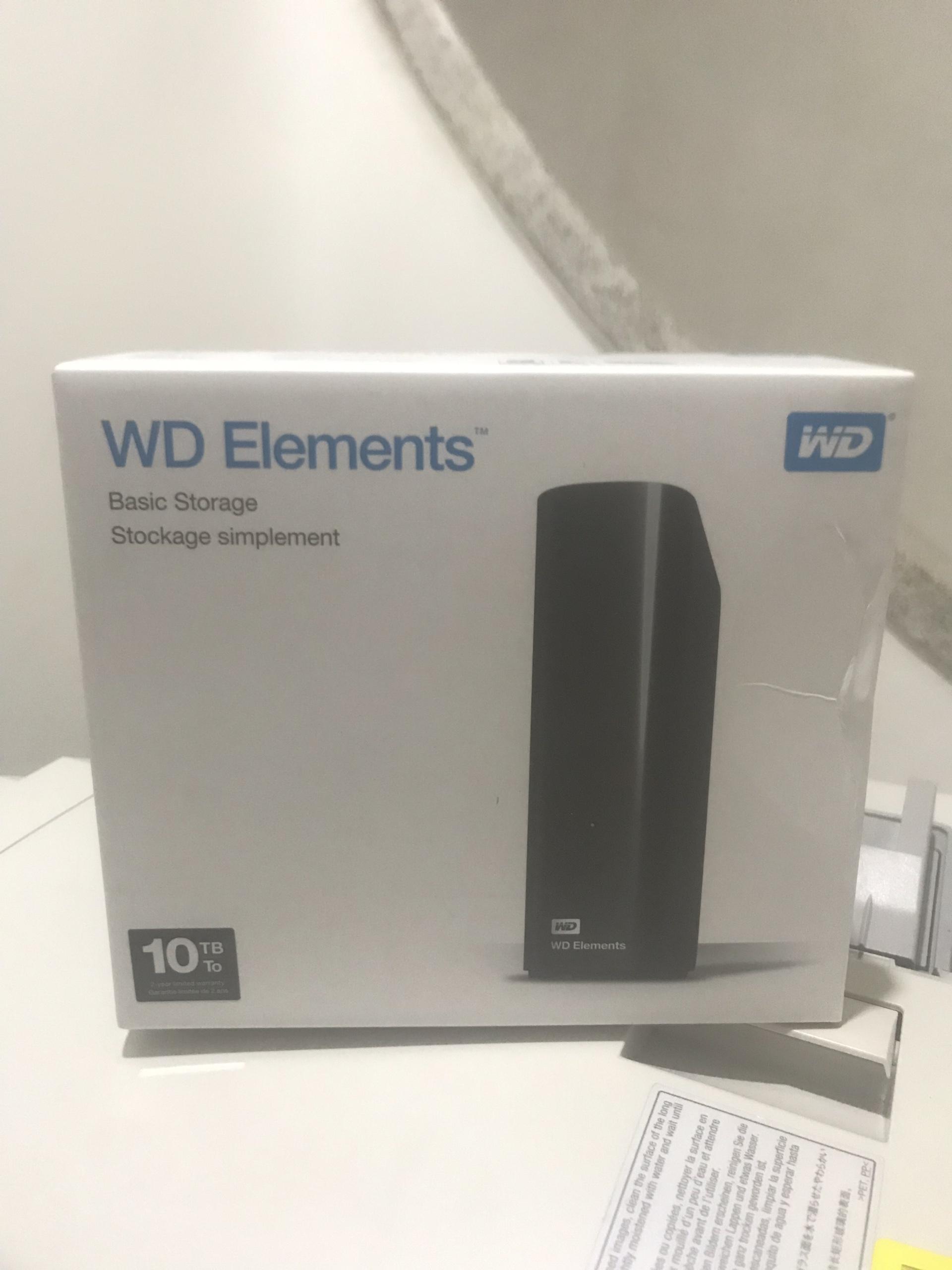 Ổ cứng ngoài WD Elements 10TB USB 3.0 - Hàng nhập khẩu Nhật Bản