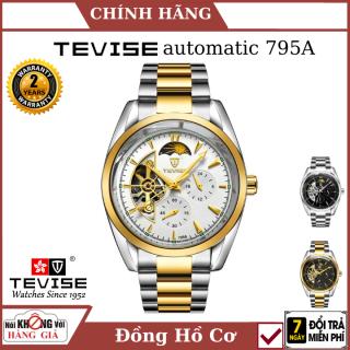 Đồng hồ nam TEVISE máy cơ 795A, dây không gỉ cao cấp, chống nước, chống xước , máy cơ cao cấp , chính xác , đồng hồ cơ , đồng hồ automatic ,đồng hồ nam , đồng hồ sang trọng , đồng hồ nam cao cấp thumbnail