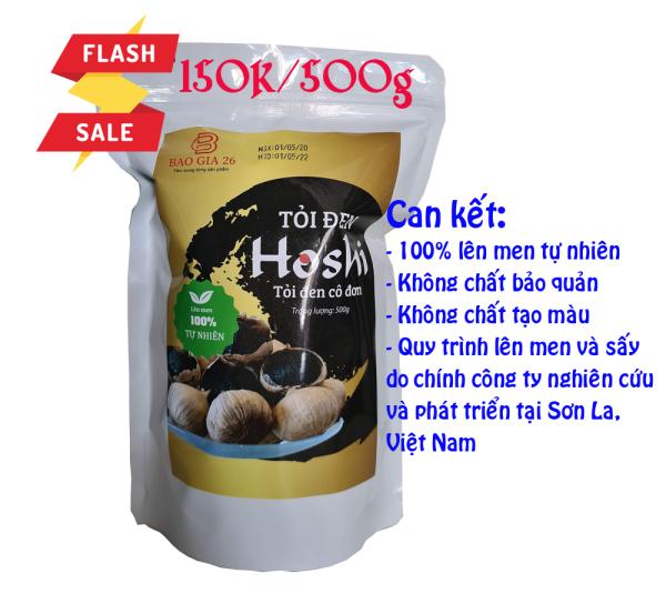 [500g] Tỏi lên men tự nhiên HoShi loại 1 giá rẻ
