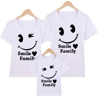 Áo Thun Gia Đình in hình Smile Family EGDM18 Thương Hiệu Elsa thumbnail