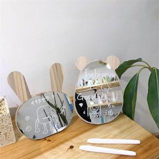 Gương gỗ để bàn (gương decor) thumbnail