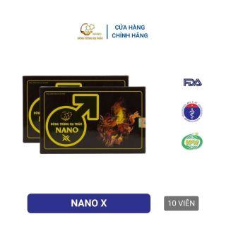 Viên sinh lý Đông trùng hạ thảo Nano X 10 viên thumbnail