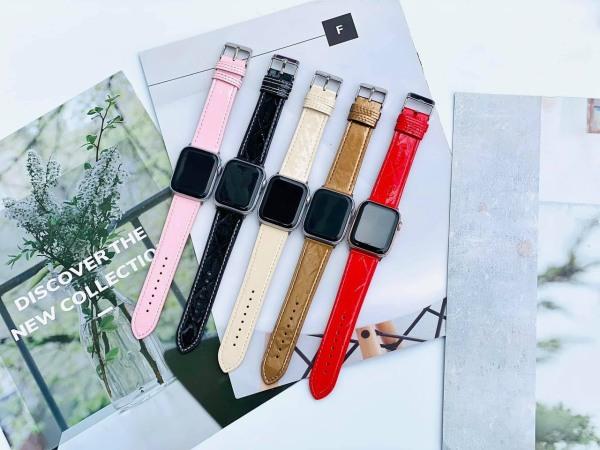 Dây da bóng Apple Watch size 38/40mm đến 42/44mm