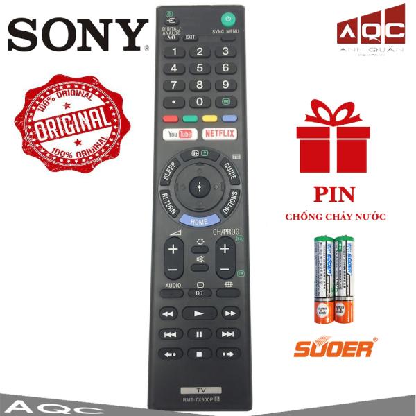 Điều khiển TV Sony Smart đa năng TX300P TẶNG PIN Loại Đẹp Sử dụng cho tất cả các dòng TV SONY SMART