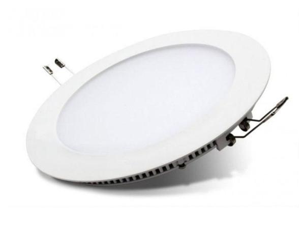 Đèn led panel âm trần tròn 6W/9W/12W/18W cao cấp - Huy Tưởng