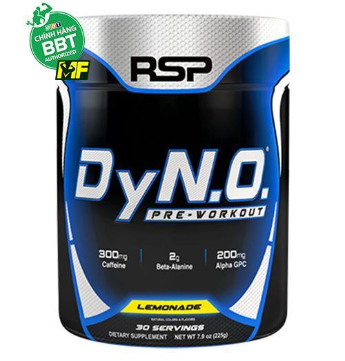 RSP DyN.O – Pre-Workout Hổ trợ tăng sức mạnh
