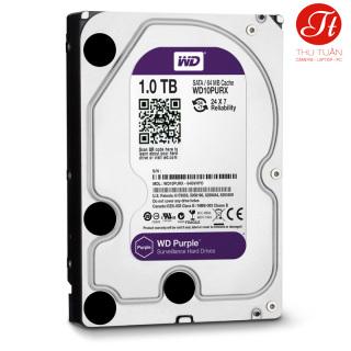 Ổ cứng HDD Western Purple 1TB 3.5 inch 5400RPM, SATA3 6Gb s, 64MB Cache (Vĩnh Xuân, DSS) thumbnail