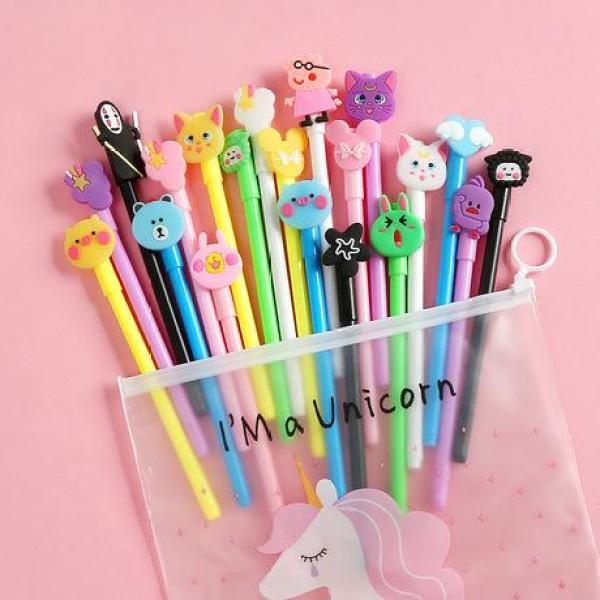 Mua Set 20 bút nước nhiều màu nhiều mẫu có túi đựng