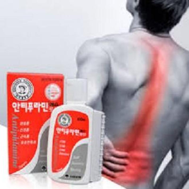 Dầu xoa bóp nóng Hàn Quốc 100ml 001 làm dịu nhanh cơn đau giúp giảm nhanh nhức ngứa thâm tím