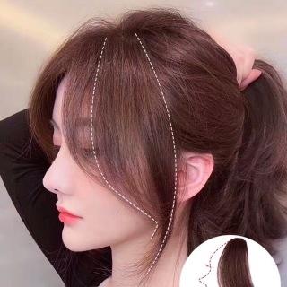 TÓC MÁI MAI GIẢ thẳng Basic Style Hàn Quốc - Tóc mai dài 2 bên thả nhẹ nhàng tiểu thư - Mái thẳng dài bên mai thumbnail
