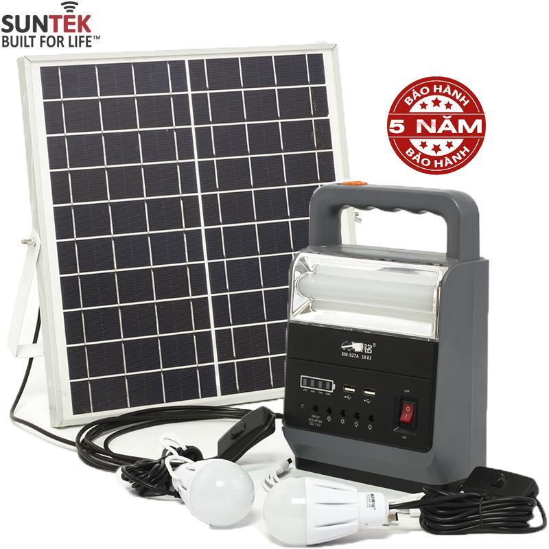 Bộ lưu điện 6V/6A SUNTEK KM-927A sạc bằng năng lượng mặt trời