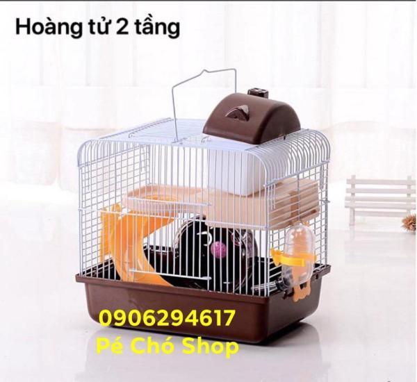 Lồng hamster Hoàng Tử Bé size LỚN d26-r20,5-c29cm .