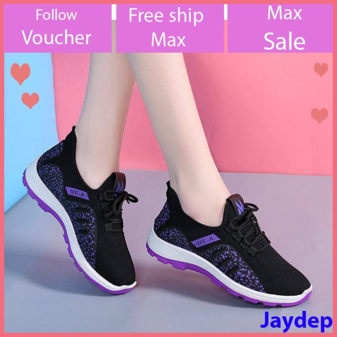 Giày sneaker thể thao nữ buộc dây siêu nhẹ V223 giá rẻ