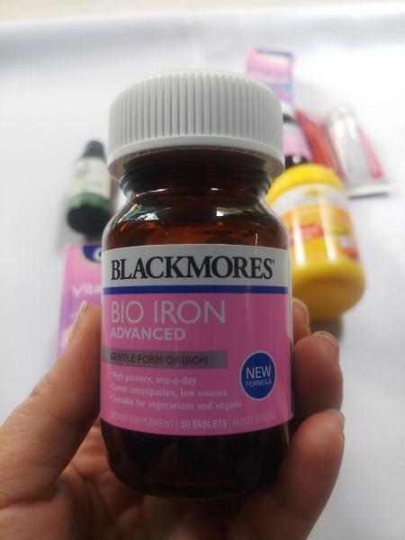 Blackmores Bio Iron Advanced 30 viên- Bổ sung sắt