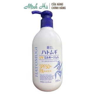 Sữa dưỡng thể Hatomugi UV Care & Moisturizing PFS50+ PA++++ chống nắng làm trắng da thumbnail