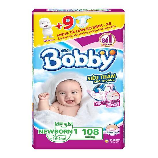 Miếng Lót Sơ Sinh Bobby Fresh Newborn 1 - 108 (108 Miếng)