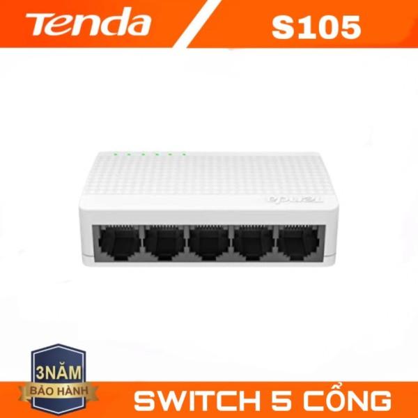 Bảng giá Tenda bộ chia mạng Switch S105 5 cổng ethernet - Koi Tech Phong Vũ