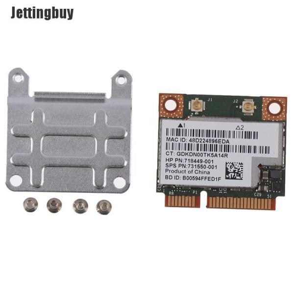 Giá Jettingbuy Thẻ Không Dây Wifi 2.4/5Ghz 300Mbps Bluetooth 4.0 Dành Cho Notebook Bcm943228hmb