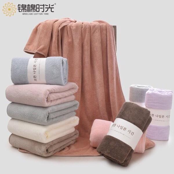[SIÊU THẤM] Khăn Tắm Lông Cừu Hàn Quốc Lớn Mềm Mịn, Thâm Hút Tốt KT 70cm x 140cm - Khăn Tăm Cao Cấp, Khăn Tăm Cho Bé và Người Lớn