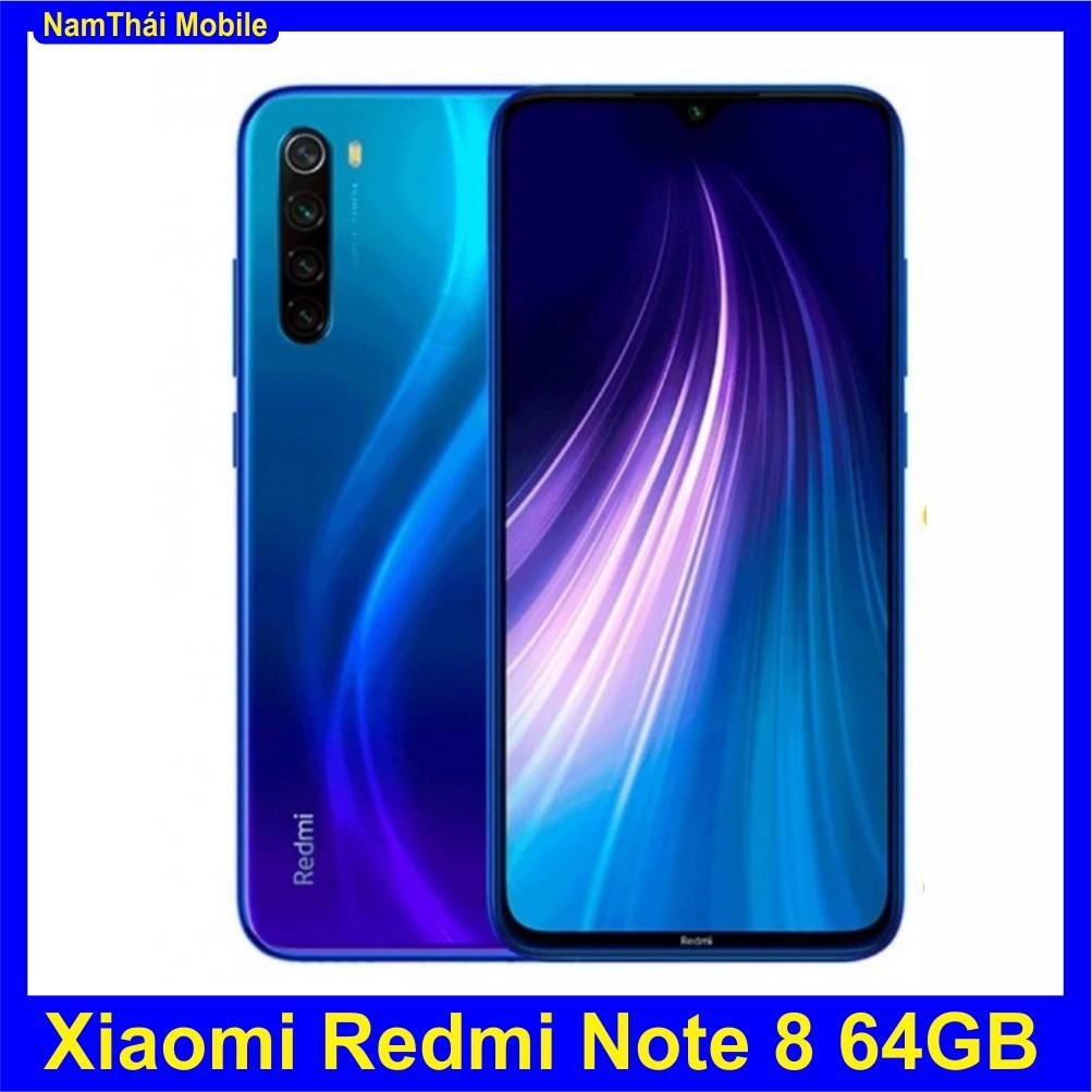 Combo Điện Thoại Xiaomi Redmi Note 8 64GB Ram 4GB Nam Thái Full - Hàng Nhập Khẩu,