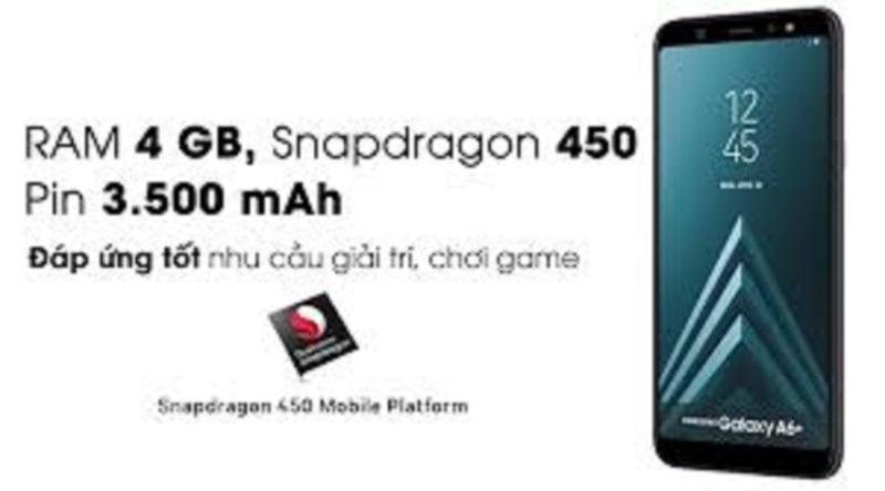 Samsung galaxy A6 Plus (2018) mới Chính Hãng, chơi Free Fire mượt