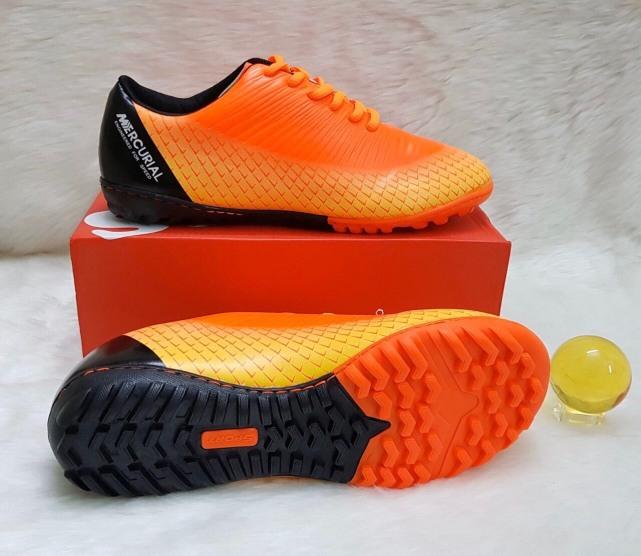 Giày đá bóng sân cỏ nhân tạo NT200 khâu full đế giá rẻ