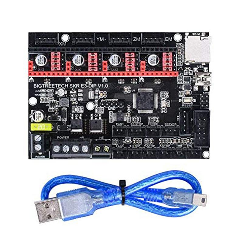 Giá 3D Printer Part SKR E3 DIP V1.0 32Bit Control Board Marlin Open Source Compatible with Ramps1.4/1.5/1.6 Support TMC2208/TMC2130 A4988/8825 Drivers