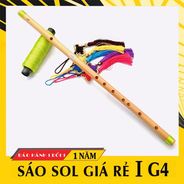 Sáo nứa tone SOL trầm HL59XL, sáo trúc G4 giá rẻ cho người mới tập